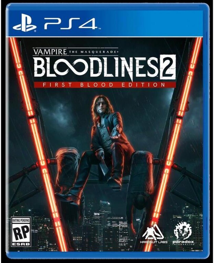 Ps4 Vampire: Masquerade Bloodlines 2 Unsanctioned - Ps4 Vampire: Masquerade Bloodlines 2 Unsanctioned