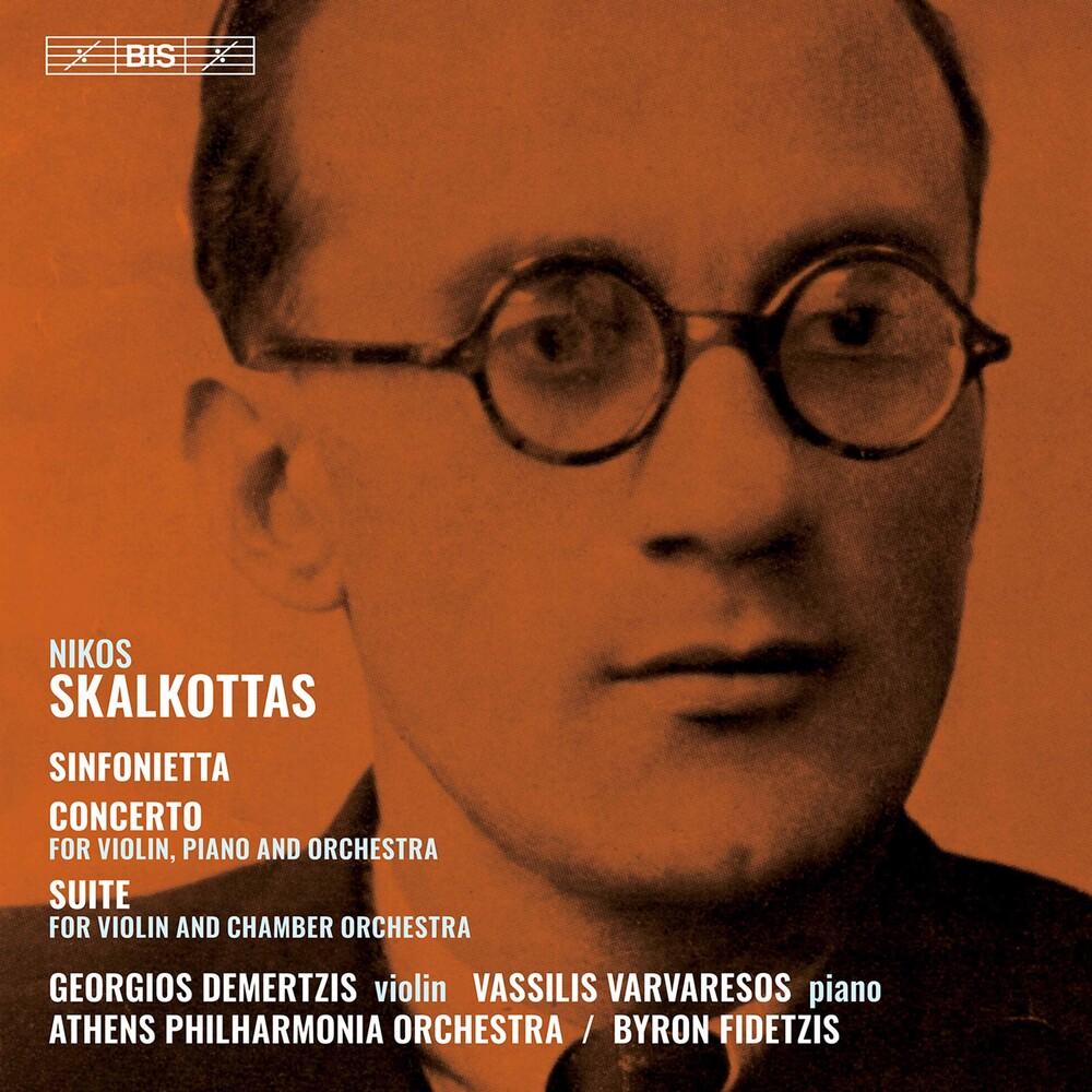 Skalkottas / Athens Philharmonia Orch / Varvaresos - Sinfonietta Concerto & Suite