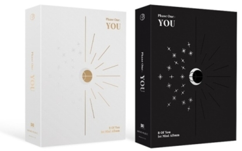 BOY - Phase One: You (incl. 82pg Photobook, 2 pc Tarot Photocard+Manual, Lenticular Card + Tattoo Sticker)