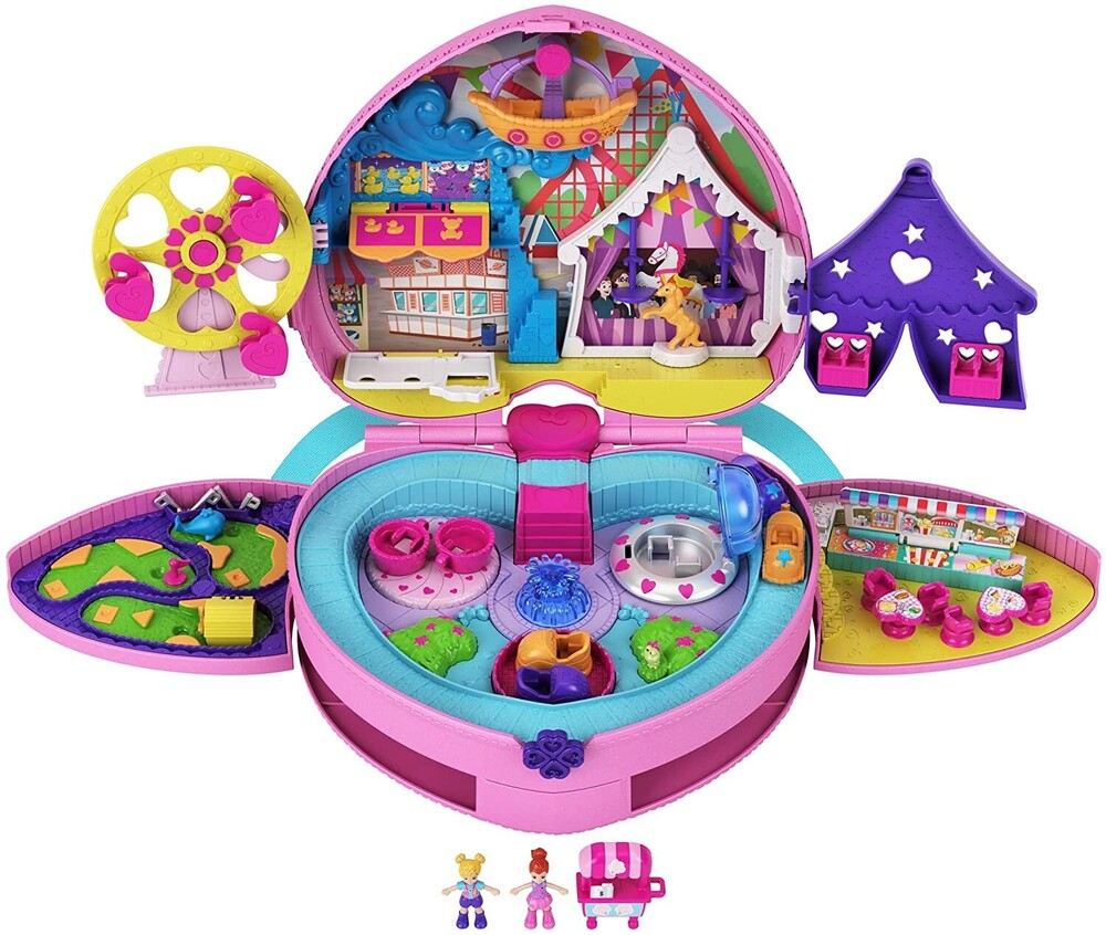 Polly Pocket - Mattel - Polly Pocket Tiny is Mighty Theme Park Backpack Compact