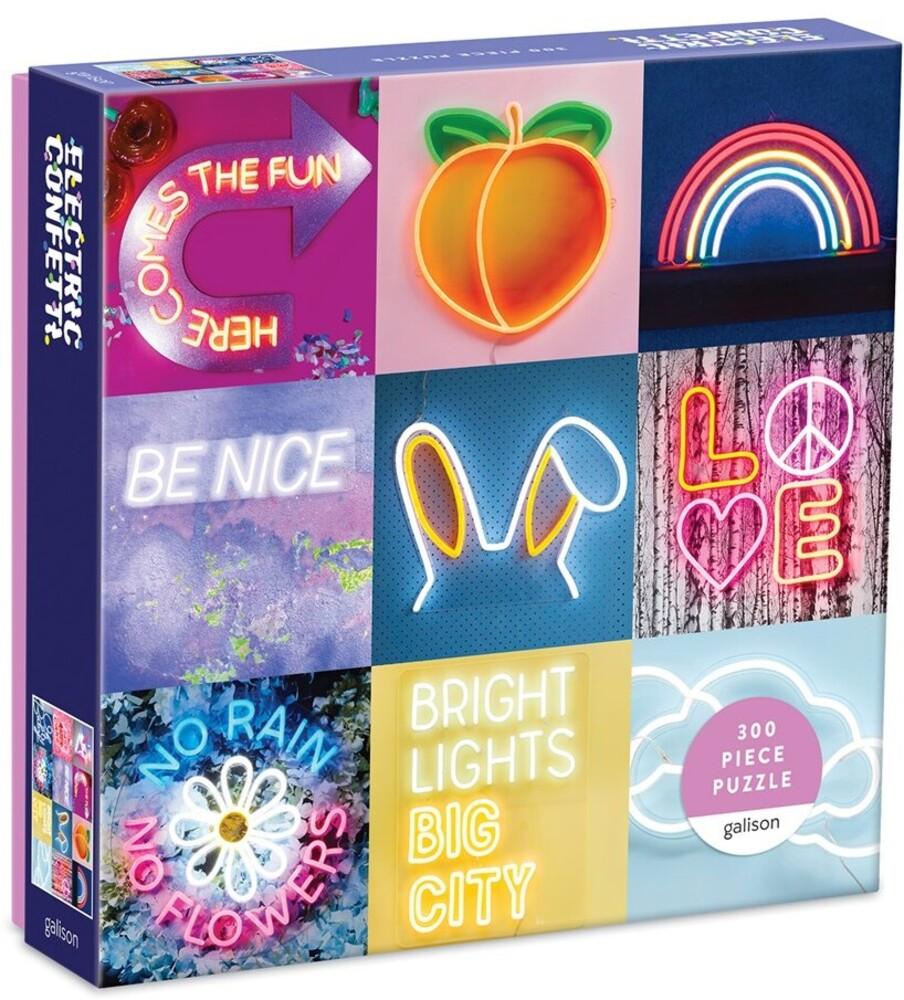 - Electric Confetti Neon 300pc Puzzle