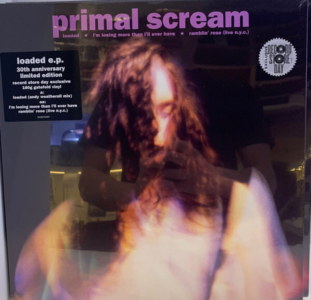 Primal Scream - Loaded [Import LP]