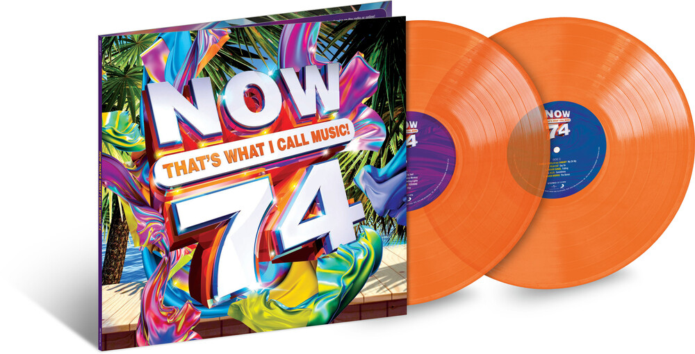 Now That's What I Call Music! - NOW That's What I Call Music, Vol. 74 [Translucent Orange 2LP]
