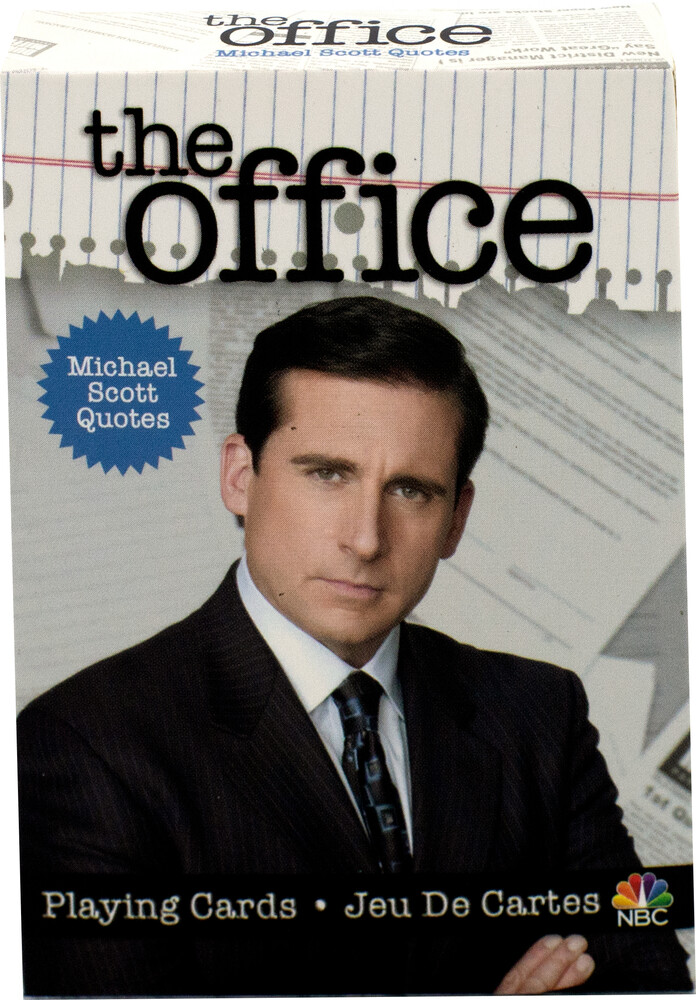 - The Office Michael Playing Cards Deck