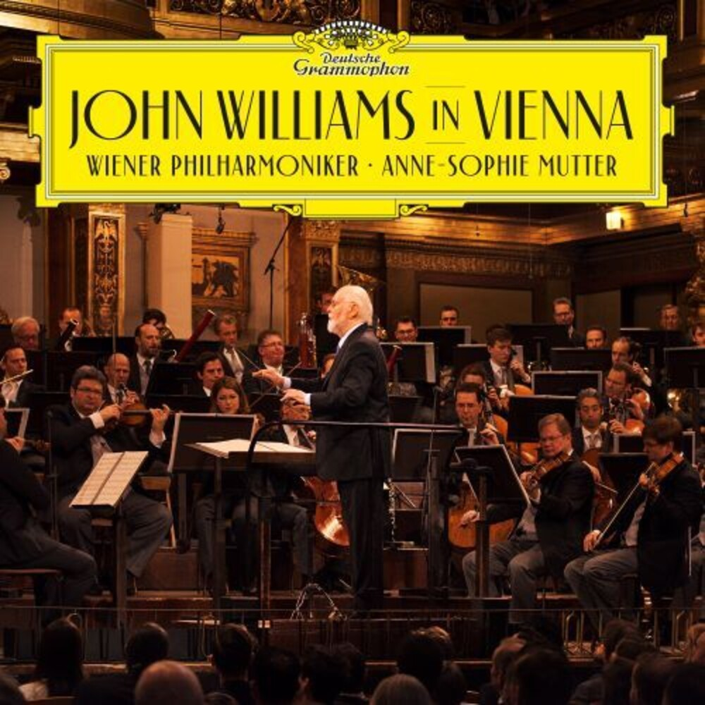 John Williams/Anne-Sophie Mutter/Wiener Philharmoniker - John Williams In Vienna  [CD/Blu-ray]