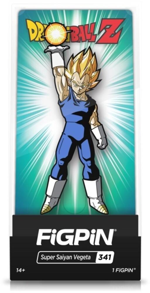 Dragon Ball Z: Super Saiyan Vegeta Figpin #341 - FiGPiN - Dragon Ball Z - Super Saiyan Vegeta #341