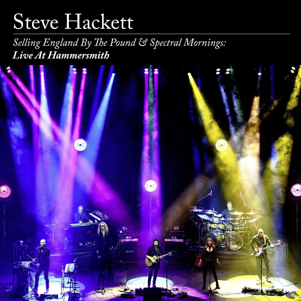 Steve Hackett - Selling England By The Pound & Spectral Mornings: Live at Hammersmith [Deluxe 2CD+DVD]