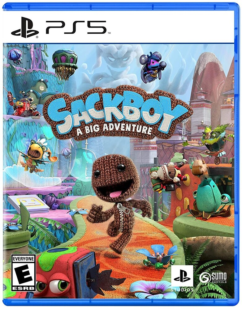 - Sackboy: A Big Adventure for PlayStation 5