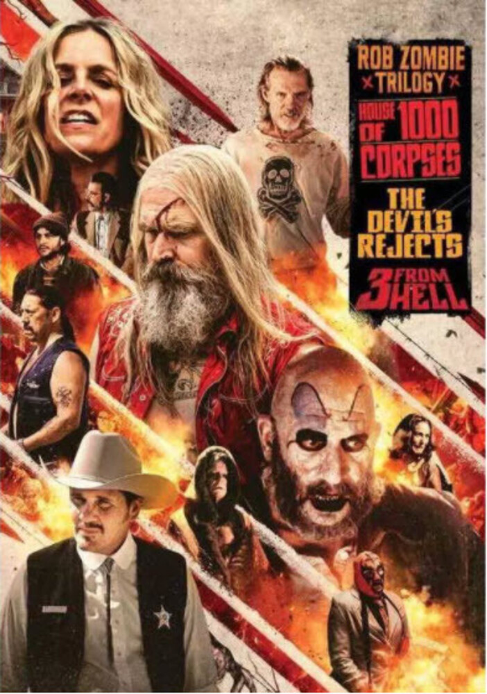 Rob Zombie Triple Feature - Rob Zombie Triple Feature / (Dol Sub Ws)