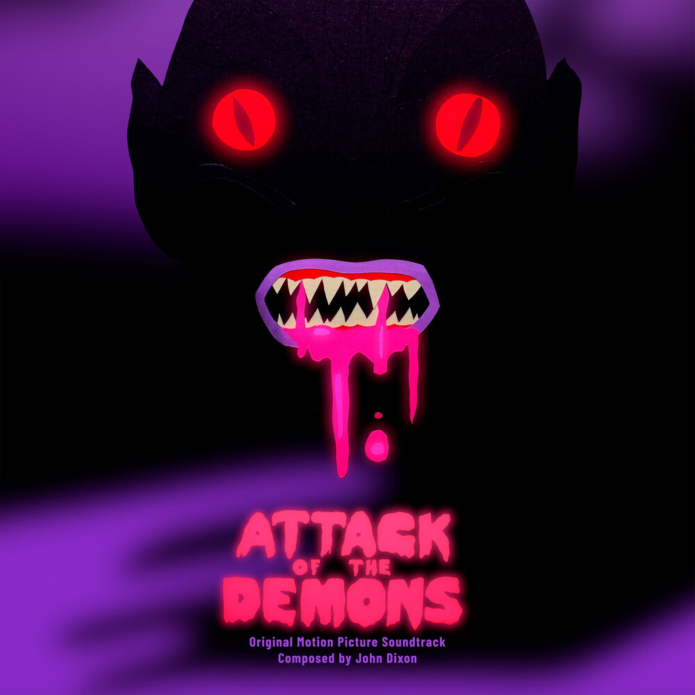 John Dixon Ltd - Attack Of The Demons / O.S.T. (Pink/Purple) (Ltd)