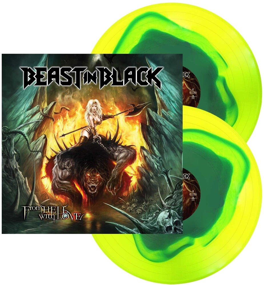Beast In Black - From Hell With Love [Blue In Yellow Swirl LP]