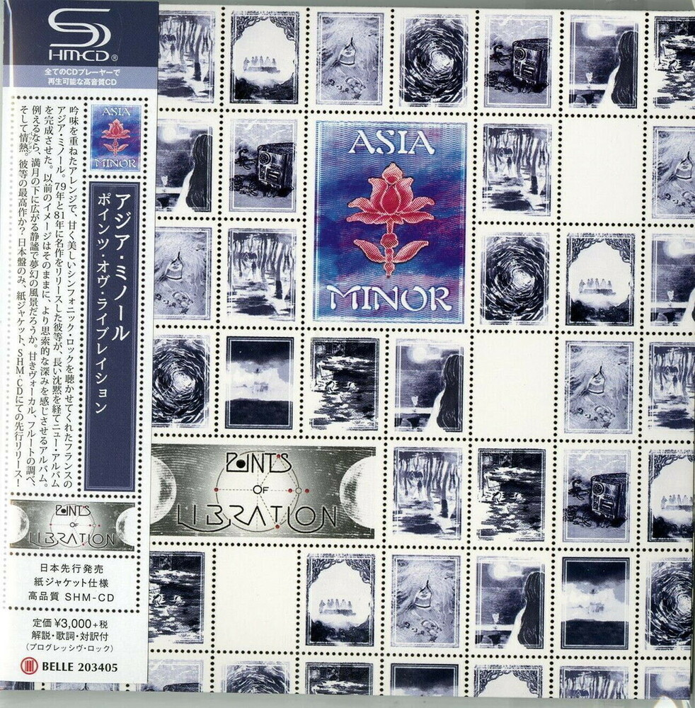Asia Minor - Points Of Libration (Jmlp) (Shm) (Jpn)