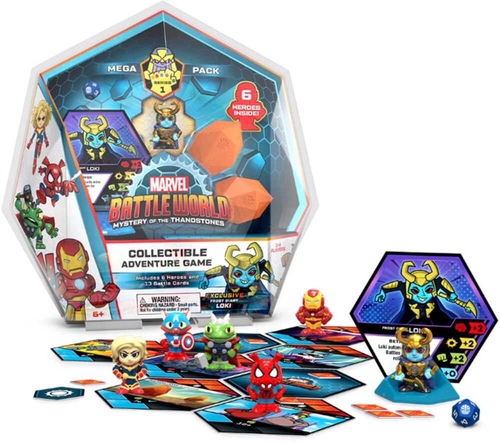 - FUNKO MARVEL BATTLEWORLD: Mega Pack-Loki (Frost Giant)