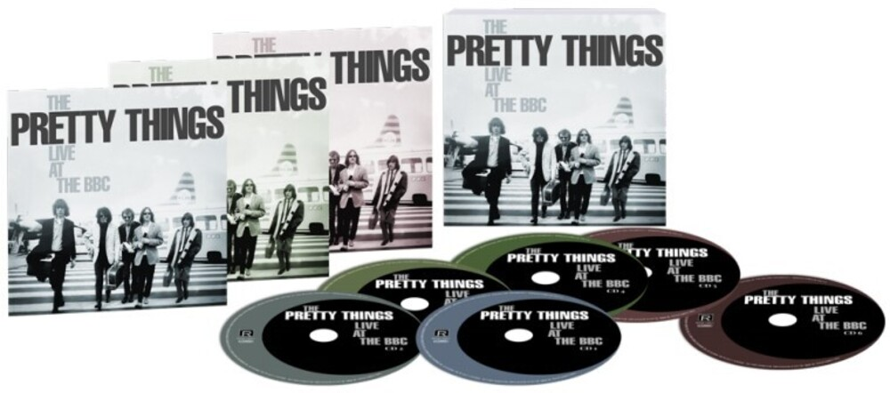 Pretty Things - Live At The Bbc (Box) (Uk)