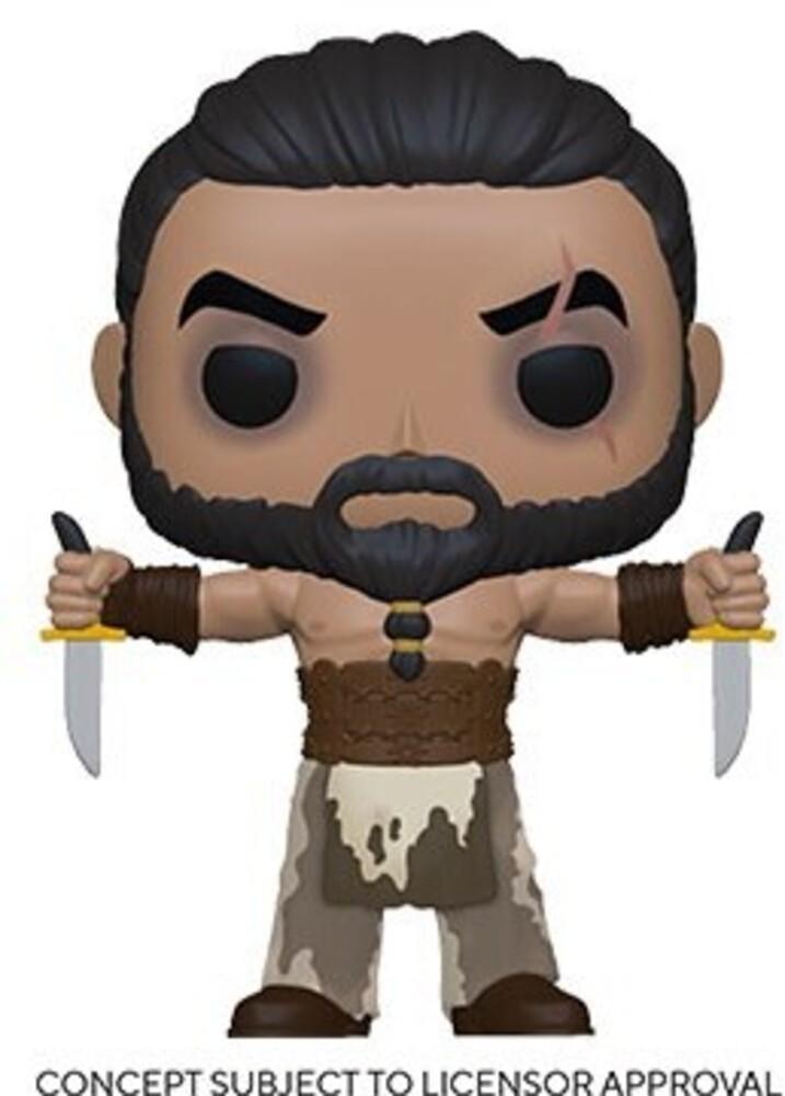 - Game Of Thrones- Khal Drogo W/Daggers (Vfig)