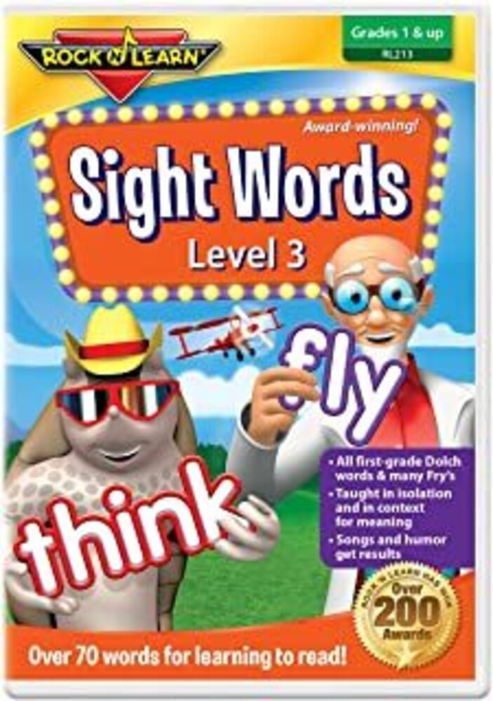 - Sight Words: Level 3