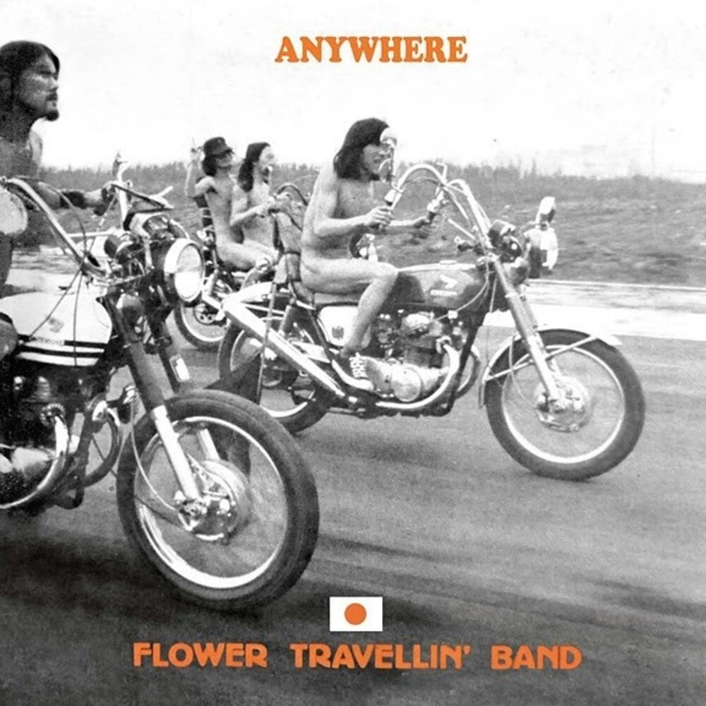 Flower Travellin Band - Anywhere (W/Cd) [Colored Vinyl] (Ylw) (2pk)