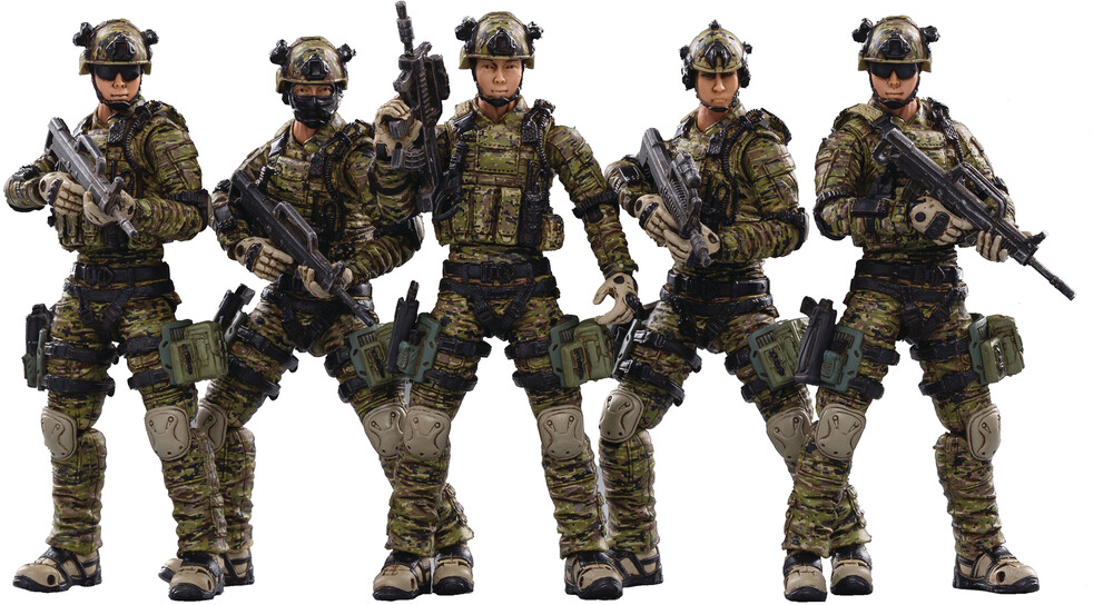 - Joy Toy Pla Army Ground Force 1/18 Figure 5pk (Net