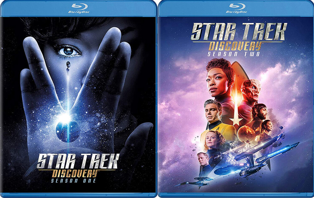 - Star Trek: Discovery - Seasons 1 & 2 (4pc) / (Box)