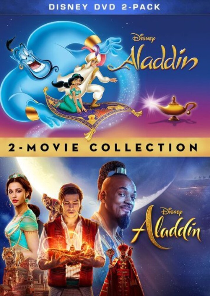 - Aladdin (Live Action) / Aladdin (Animated) (2pc)