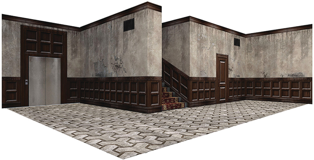 - Extreme Sets Hallway Pop Up 1/18 Scale Diorama