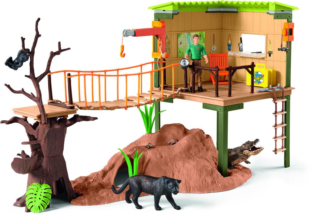 Schleich - Schleich Wild Life Ranger Adventure Station (Fig)