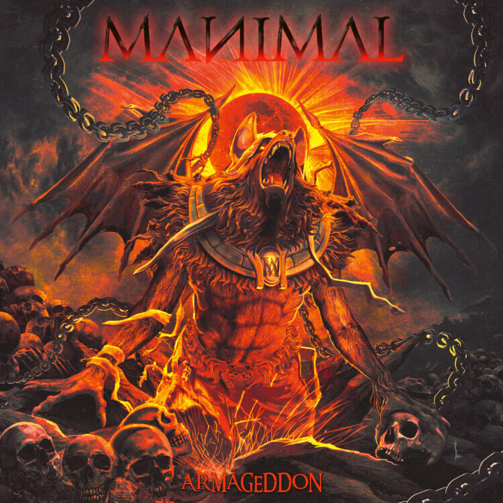 Manimal - Armageddon [Digipak]