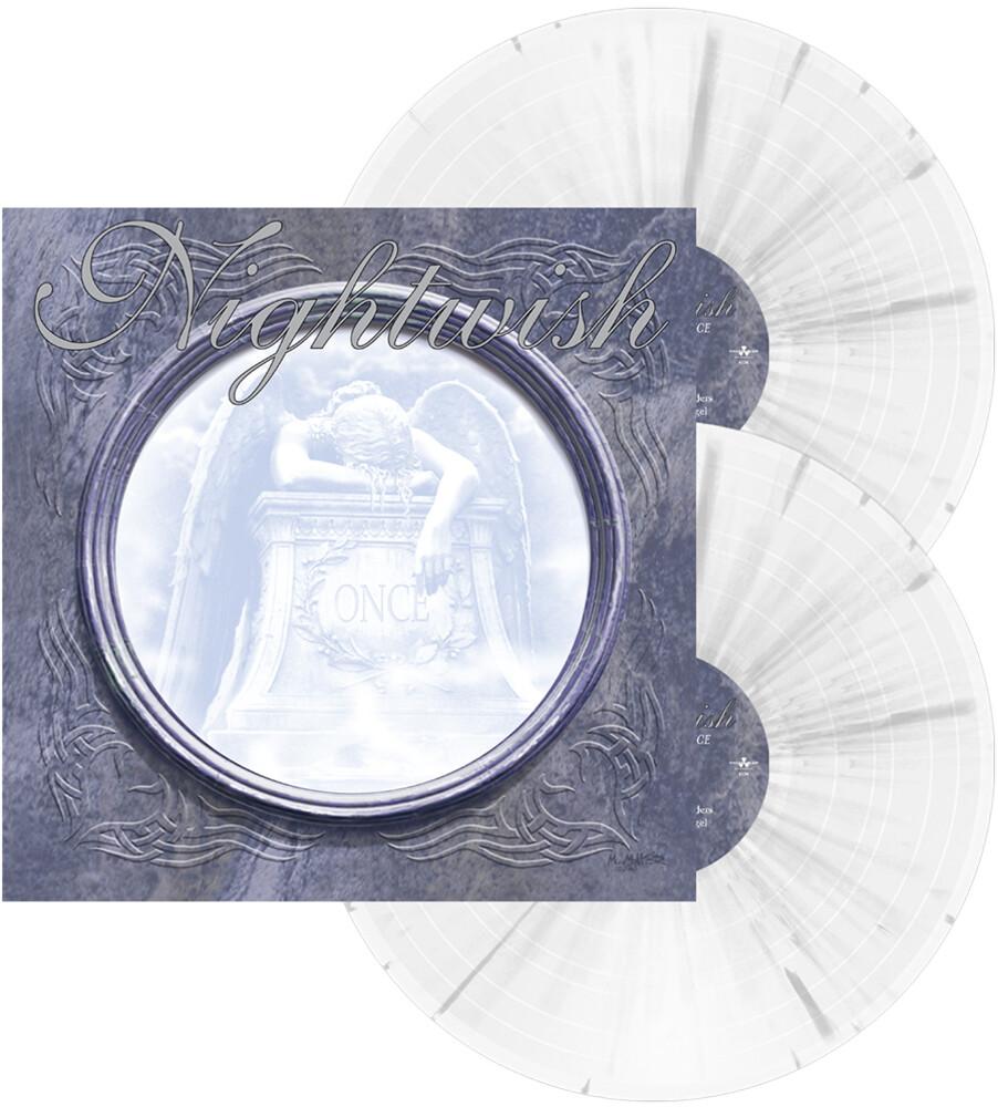 Nightwish - Once (White W/Grey Splatter Vinyl) [Colored Vinyl] (Gate)