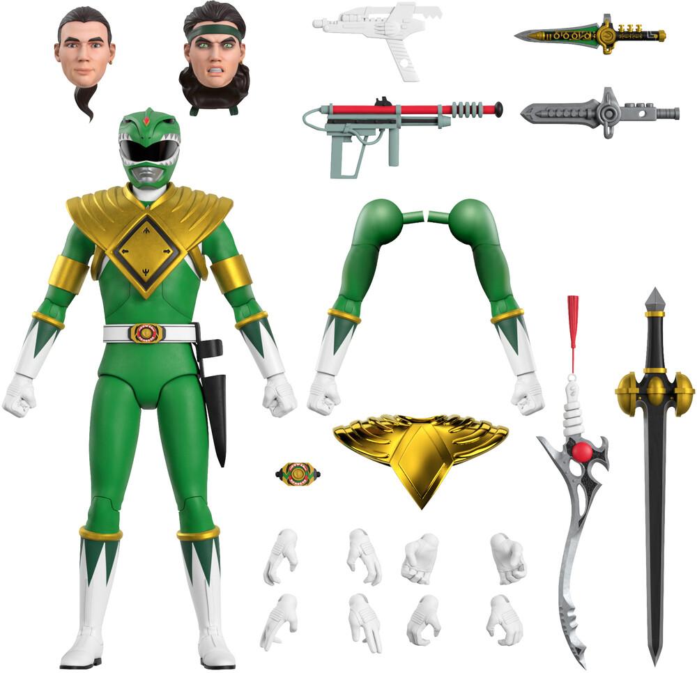 - Power Rangers Ultimates! Wave 1 - Green Ranger