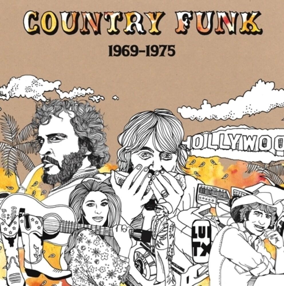 Country Funk 1969-1975 / Various (Orange Swirl) - Country Funk 1969-1975 / Various (Orange Swirl)
