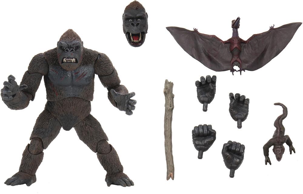 - King Kong Skull Island Ultimate 7in Af (Afig)