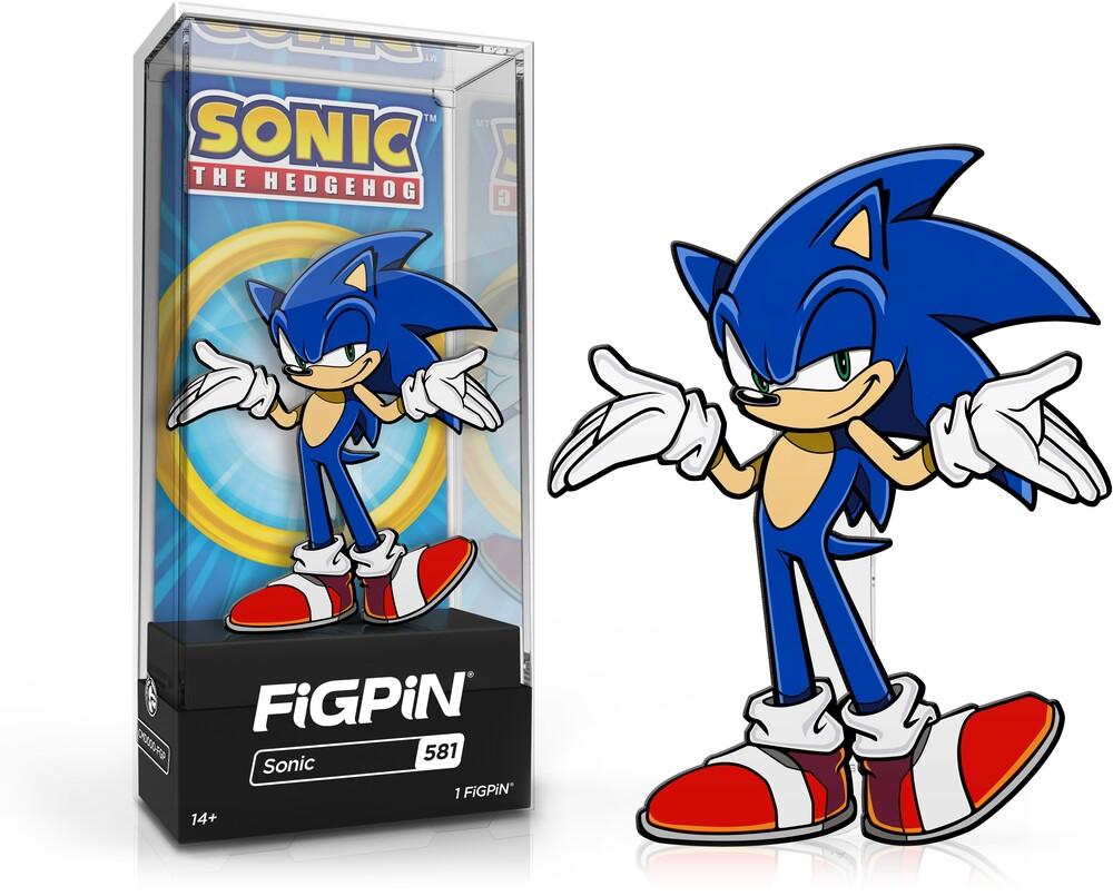 Figpin Sonic the Hedgehog Sonic #581 - Figpin Sonic The Hedgehog Sonic #581 (Clcb) (Pin)