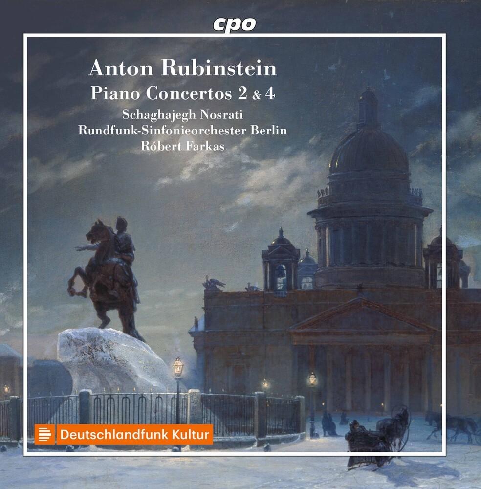 Rubinstein / Nosrati / Farkas - Piano Concertos 2 & 4