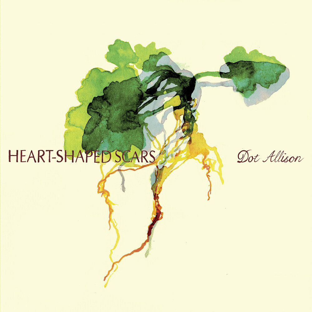 Dot Allison - Heart-Shaped Scars [Colored Vinyl] (Gate) (Grn) [Limited Edition]