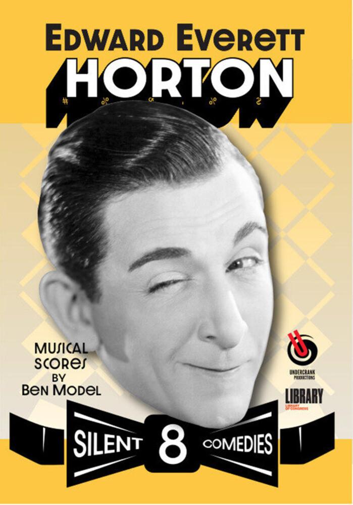Edward Everett Horton: 8 Silent Comedies - Edward Everett Horton: 8 Silent Comedies (2pc)