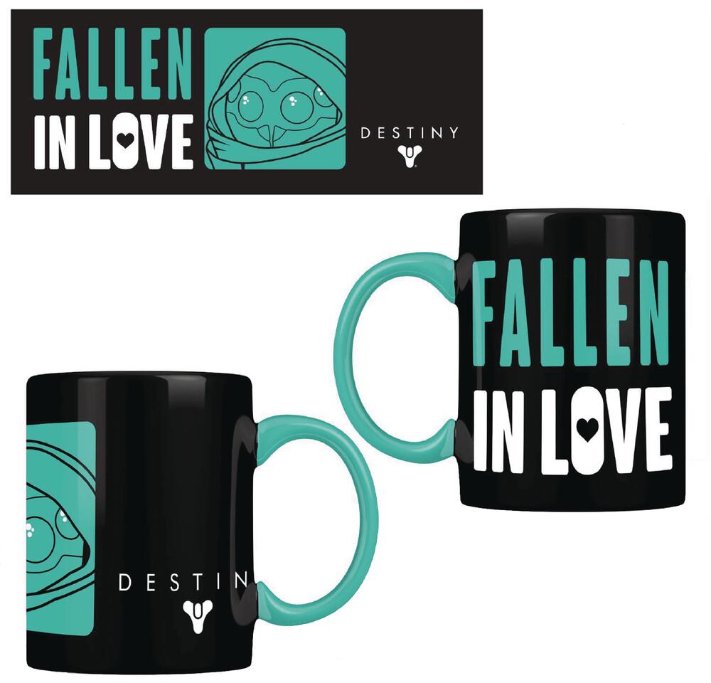 Rubber Road - Destiny Fallen In Love Black 12oz Mug (Net) (Mug)