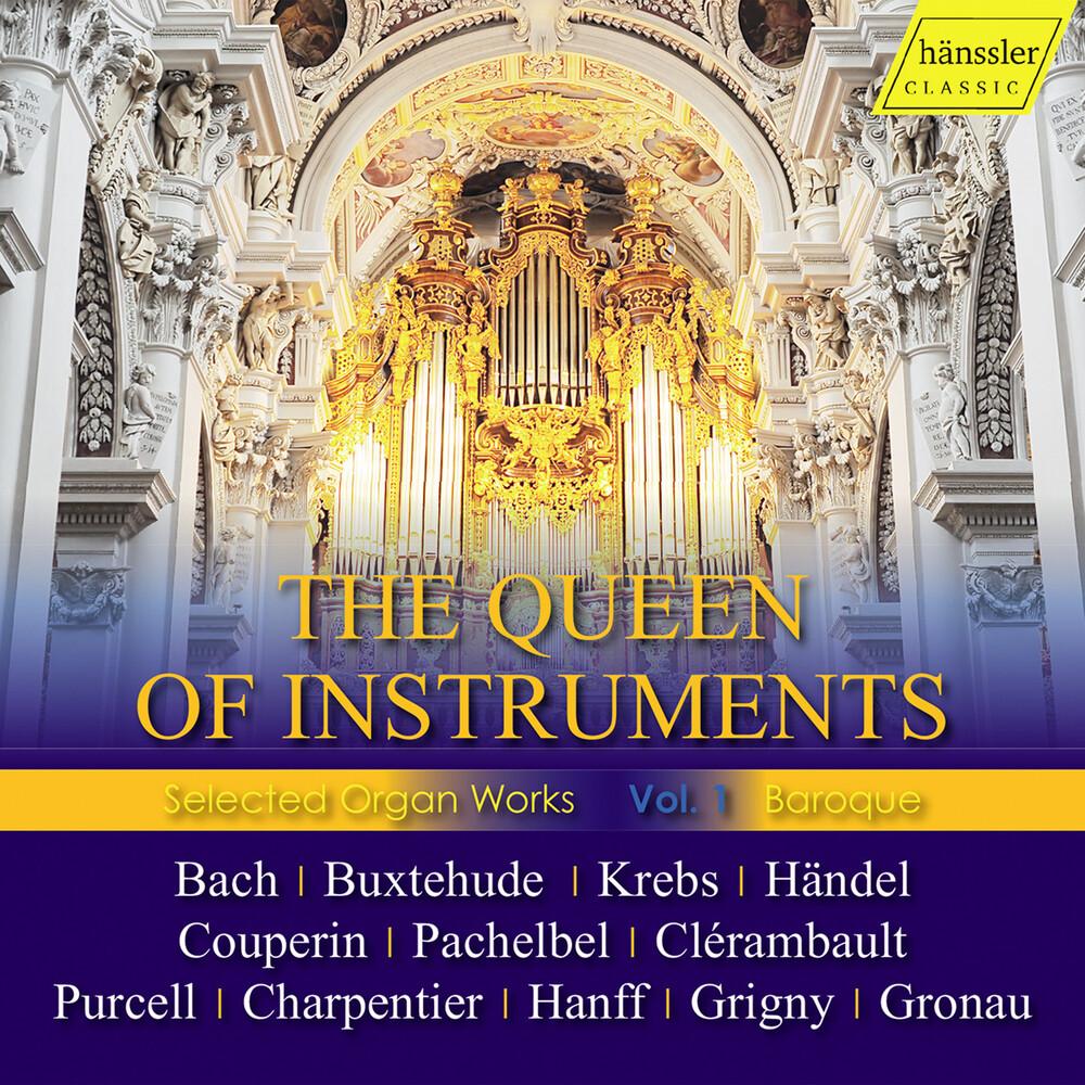 J Bach .S. / Johannsen / Haselbock - Queen Of Instruments (Box)