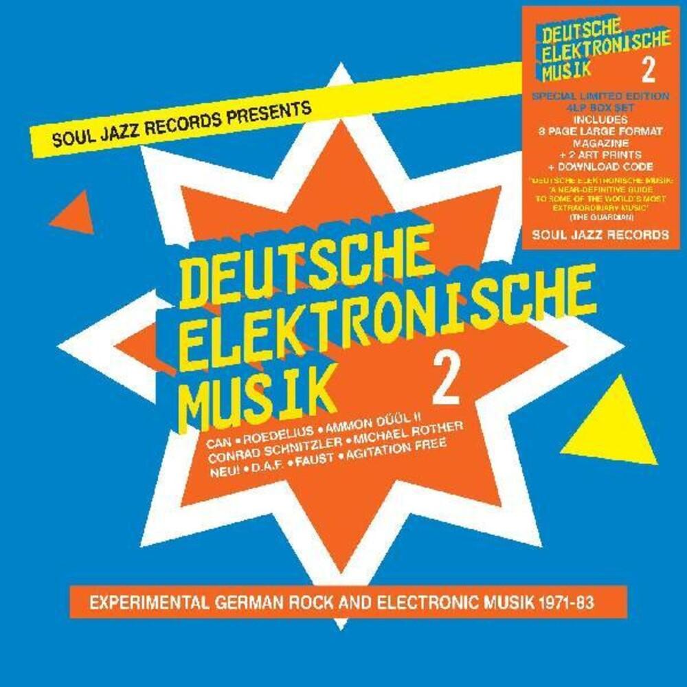 Soul Jazz Records Presents - Deutsche Elektronische Musik (Box) [Deluxe] [Limited Edition]