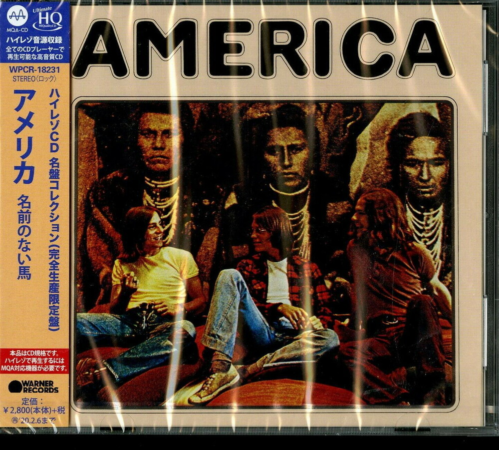 America - Horse Without Name [Reissue] (Jpn)