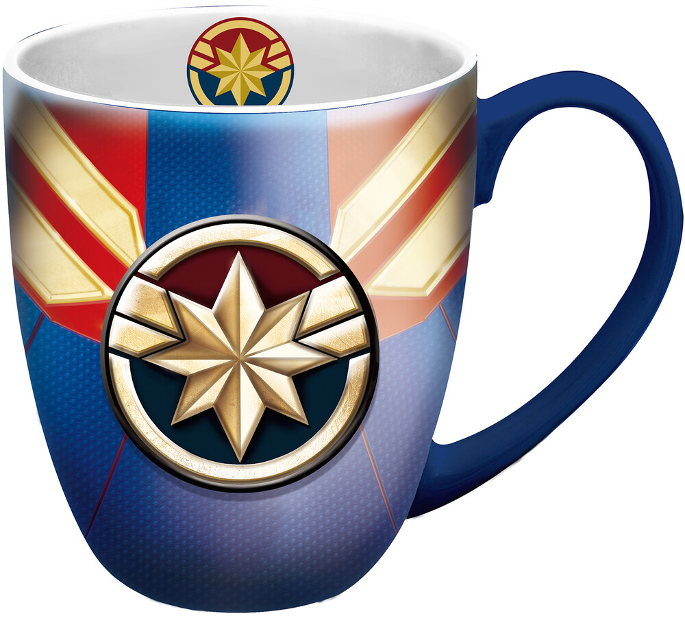 Captain Marvel Logo Mug - Captain Marvel Logo Mug