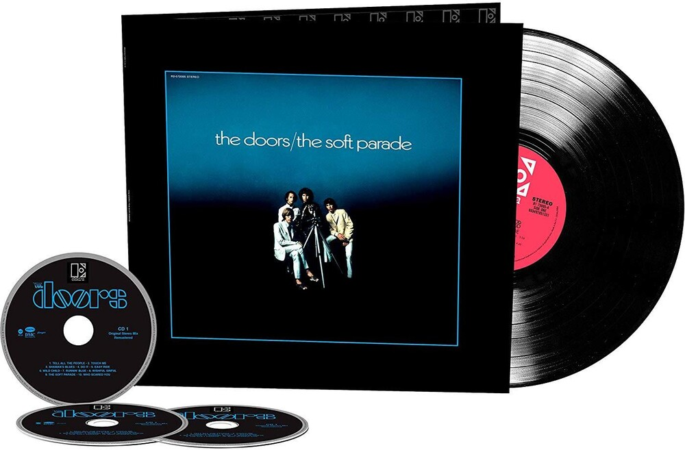 The Doors - The Soft Parade: 50th Anniversary [Deluxe 3CD/LP]