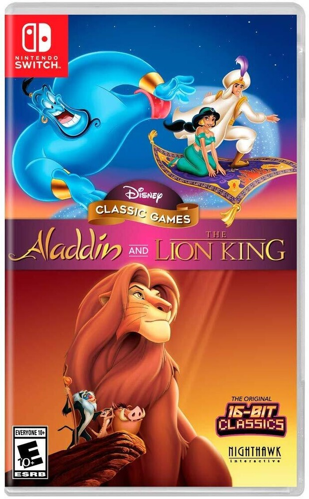 - Disney Classic Games: Aladdin And The Lion