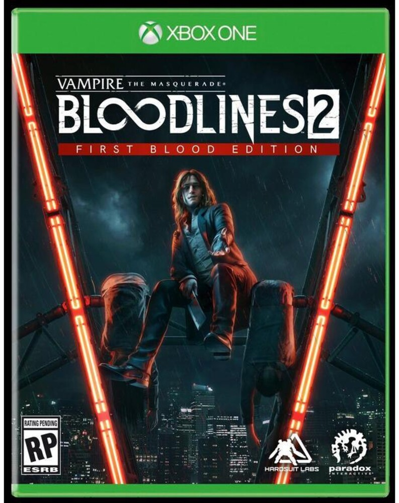 - Xb1 Vampire: Masquerade Bloodlines 2 Unsanctioned