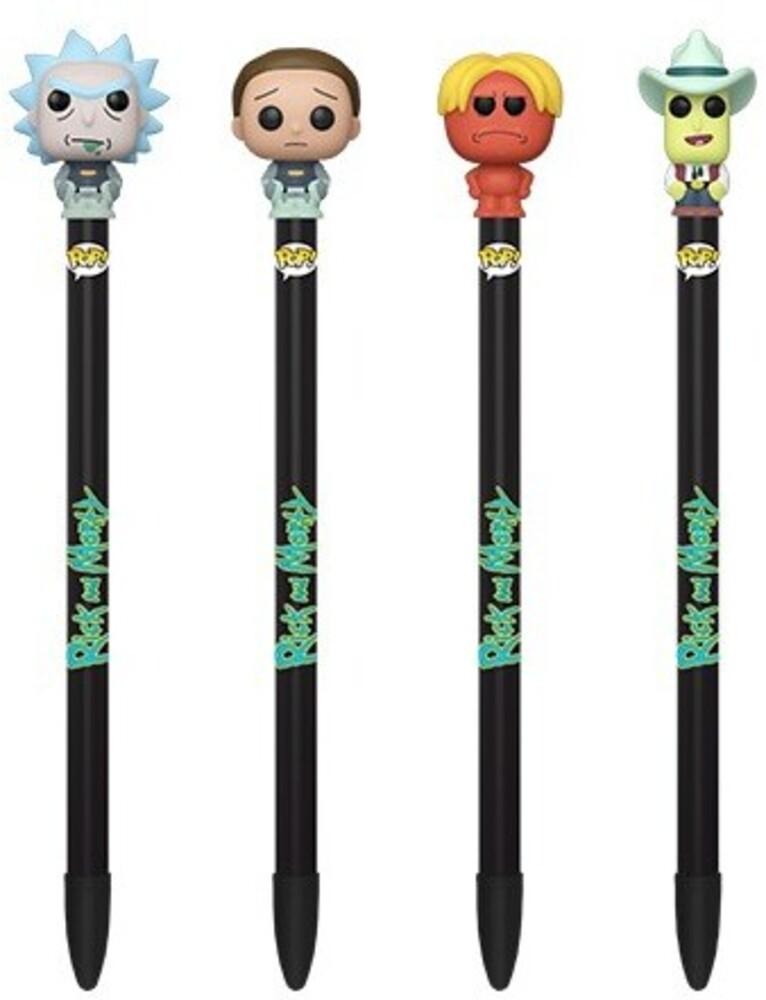 Funko Pen Toppers: - FUNKO PEN TOPPERS: Rick & Morty (ONE Random Pen Topper Per Purchase)