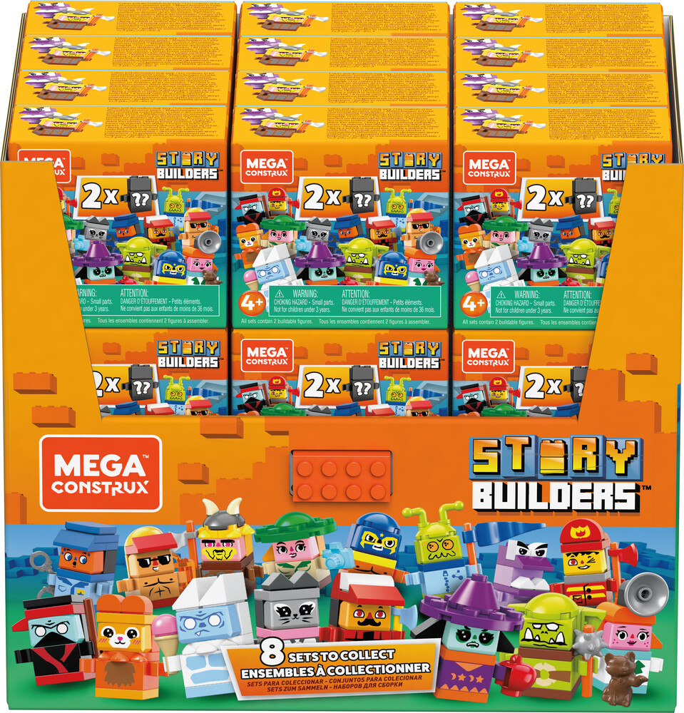 Mega Bloks - MEGA Brands - MEGA Bloks Storybox Mini Assortment