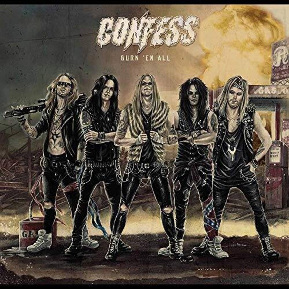 Confess - Burn Em All (Uk)