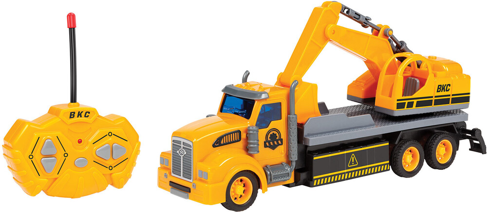 Rc Vehicles - Big Kid's Construction: 1:48 RC Semi Truck Excavator