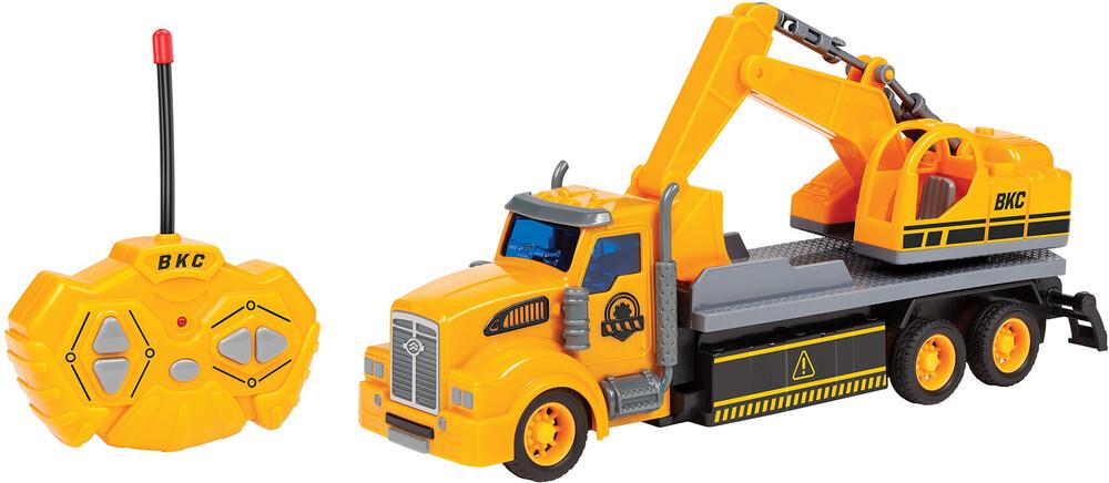 Rc Vehicles - Big Kid's Construction: 1:48 RC Semi Truck Excavator