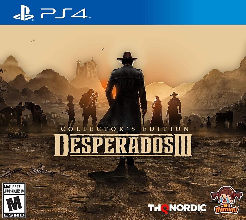 - Desperados III Collector's Edition for PlayStation 4