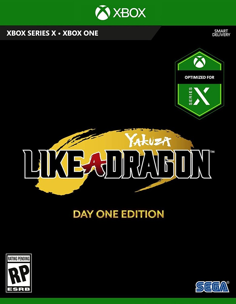 Xbx Yakuza: Like a Dragon - Yakuza: Like a Dragon - Day One Edition for Xbox One and Xbox Series X